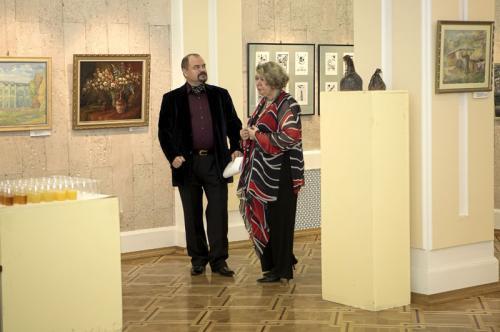 Открытие выставки.