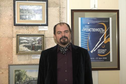 Козорезенко П.П. на открытии выставки.