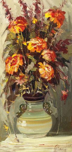Июльские цветы.